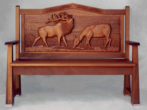 Elk Manor Bench