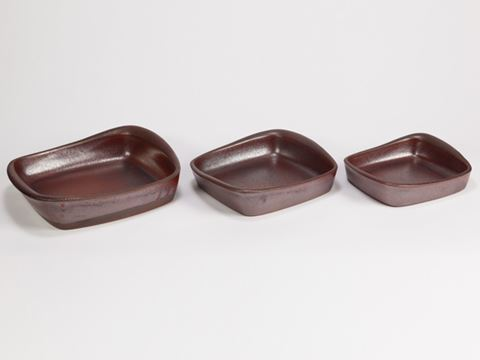 Cook on Clay Square Bakers - 3 sizes