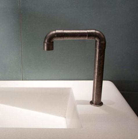 Sonoma Forge   Bathroom Faucet   Elbow Spout Vessel   Deck Mount   Hands Free