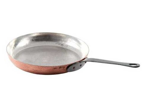 French Copper Studio Copper Frying Pan