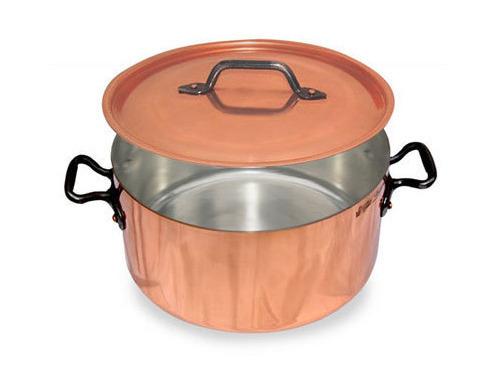 Picture of French Copper Studio Copper Stock Pot