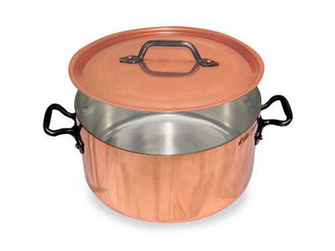 French Copper Studio Copper Stock Pot