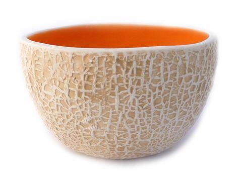 Vegetabowls Tall Cantaloupe Bowl