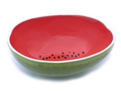 Vegetabowls Watermelon Serving Bowl