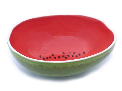 Vegetabowls Watermelon Serving Bowl