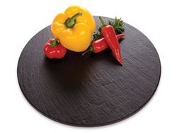 JK Adams Charcoal Slate Lazy Susan