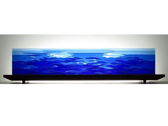 Picture of Ocean Counterpoint Glasscape Lighting Sculpture