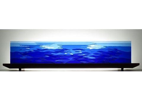 Ocean Counterpoint Glasscape Lighting Sculpture
