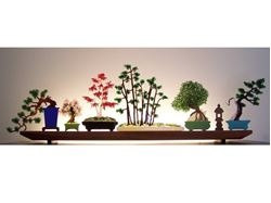 Picture of Bonsai Glasscape Lighting Sculpture