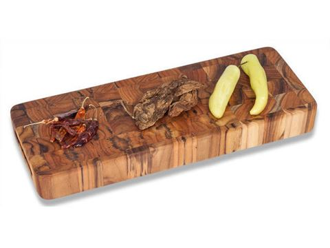 End Grain Teak Wood Cheese board by Proteak