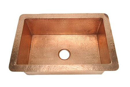 "Picture of 30"" Copper Kitchen Sink by SoLuna"