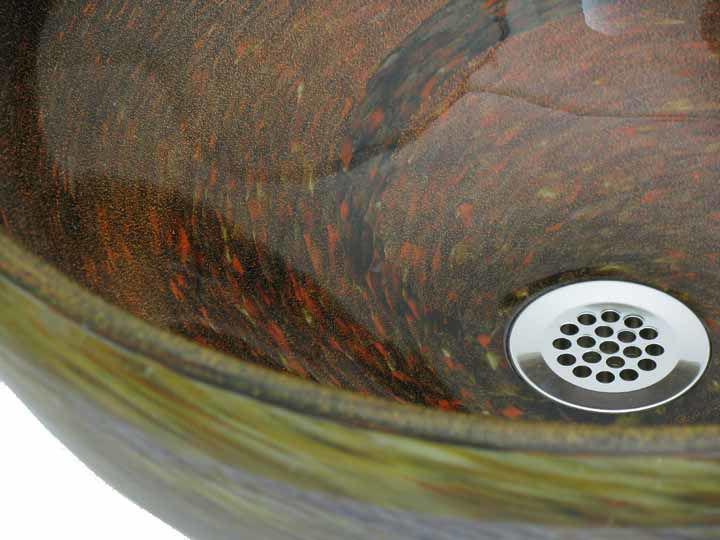 Blown Glass Sink | Copper River