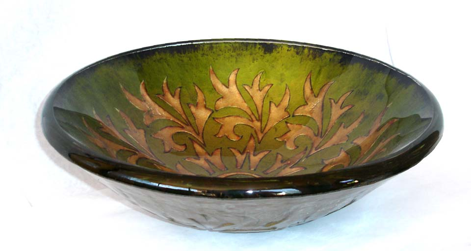 Picture of Victorian Round Glass Vessel Sink
