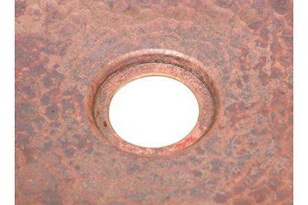 Picture of Hexagon Copper Kitchen Prep Sink By SoLuna