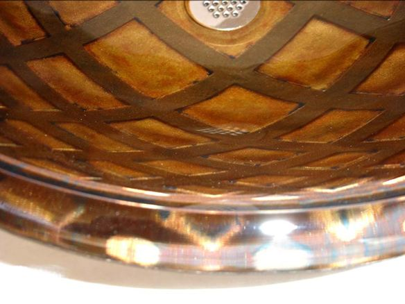 Picture of Illusione Round Glass Vessel Sink