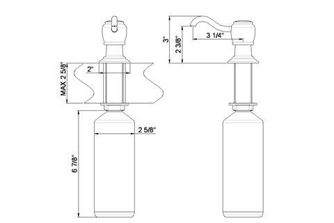 Wellington Soap Dispenser