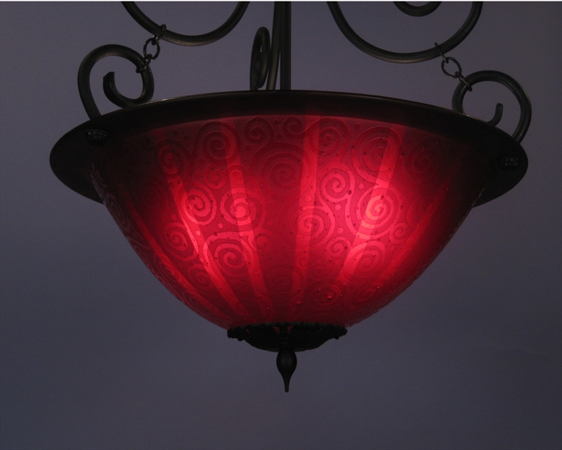 Picture of Pendant Light   Red Light District
