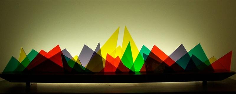 Picture of Scalene Glasscape Lighting Sculpture