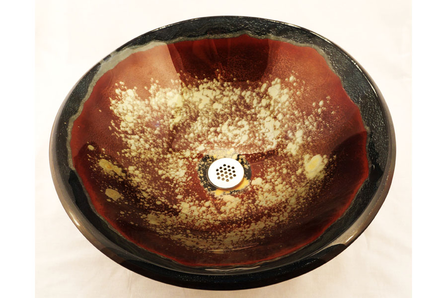 Picture of Arsia Handcrafted Glass Vessel Sink