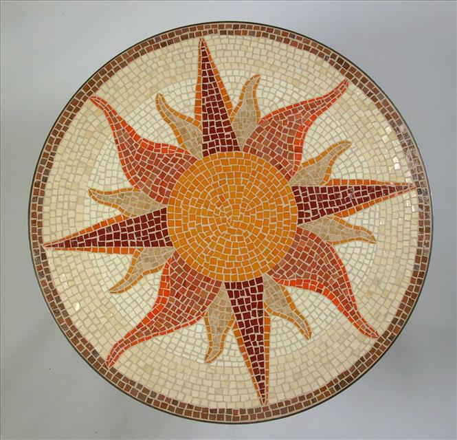 Picture of Sunburst Dining Table