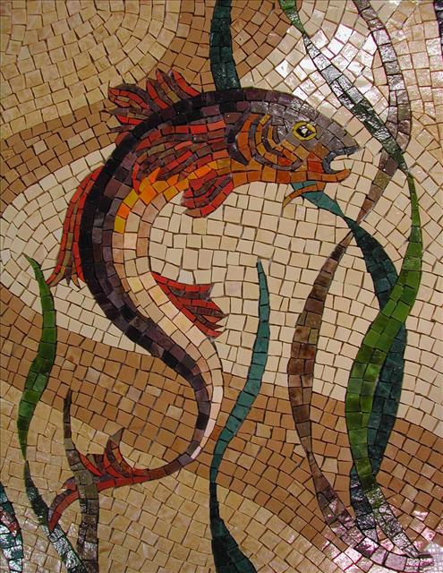 Picture of Mythical Fish Mural