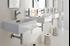 """Picture of Quarelo 16.5"""" Italian White Ceramic Sink"""