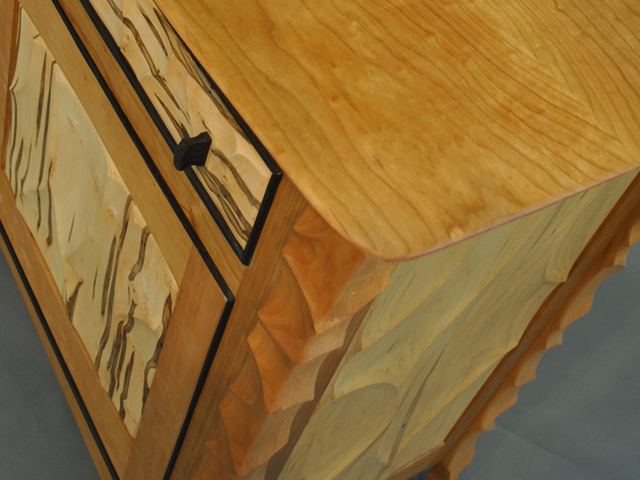 Picture of Cherry Ambrosia Maple and Wenge Console
