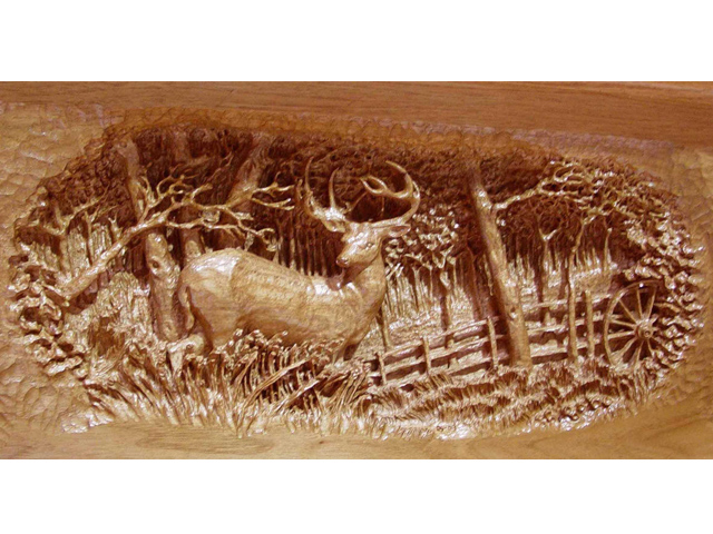 Picture of Deer Mantel