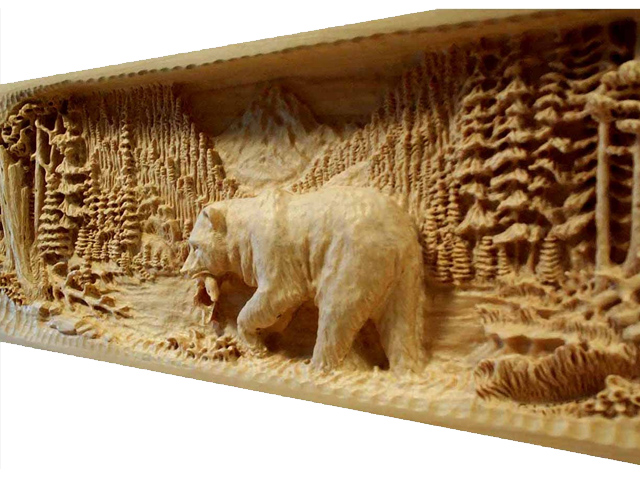 Picture of Bear Mantel