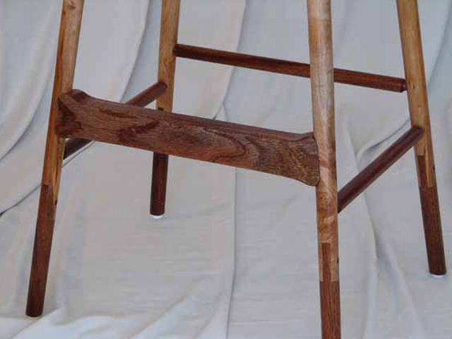 Picture of Sapele Bar Stool
