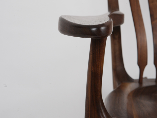 Picture of Walnut Rocking Chair
