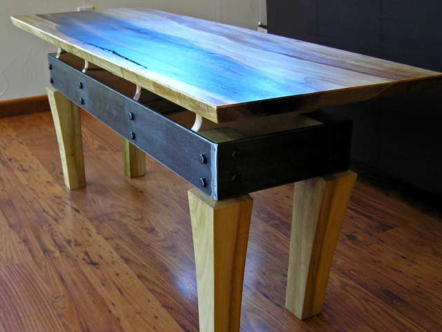 Picture of Steel Apron Coffee Table