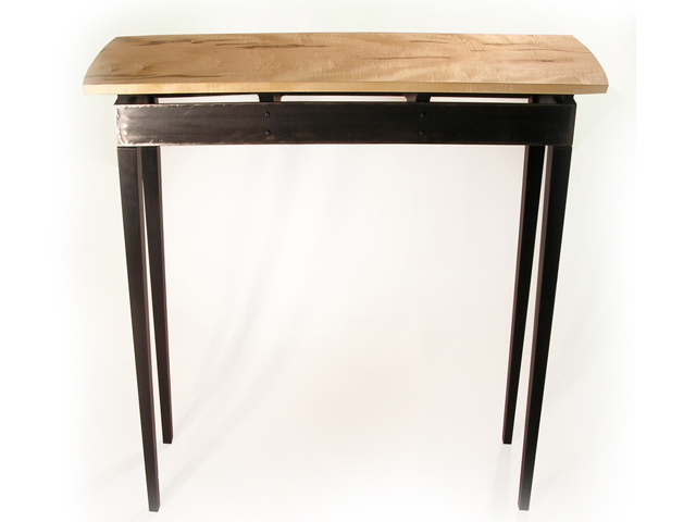 Picture of Steel Apron Sofa Table