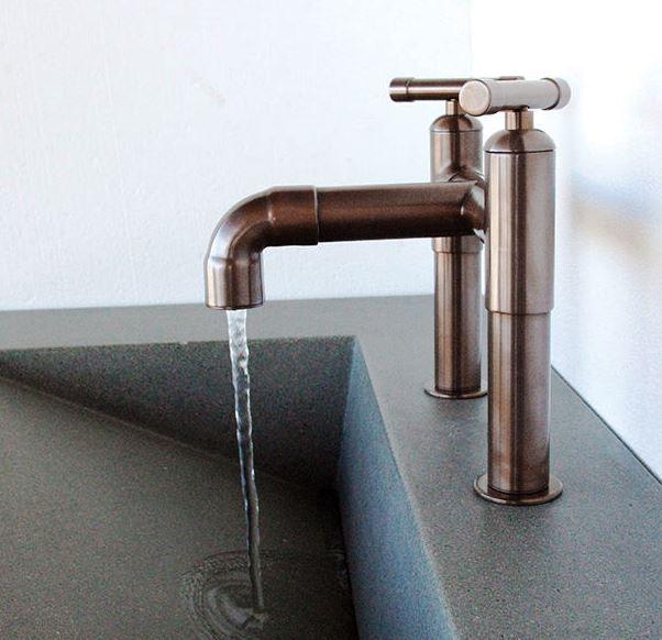Picture of Sonoma Forge | Bathroom Faucet | Elbow Spout | Deck Mount