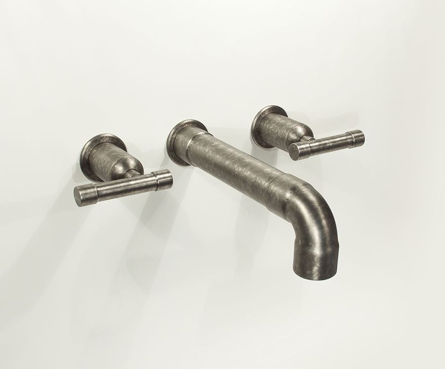 Picture of Sonoma Forge | Bathroom Faucet | Wherever Elbow Spout | Wall Mount