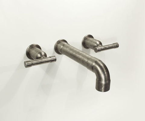 Sonoma Forge | Bathroom Faucet | Wherever Elbow Spout | Wall Mount