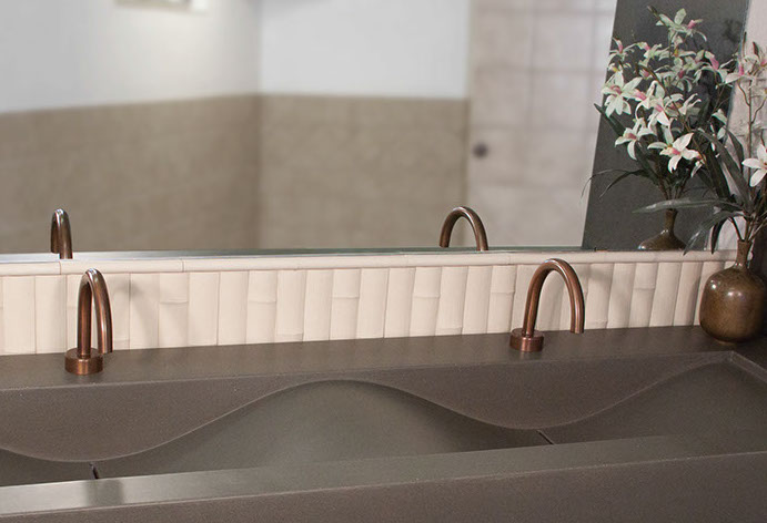 Picture of Sonoma Forge | Bathroom Faucet | Gooseneck | Hands Free
