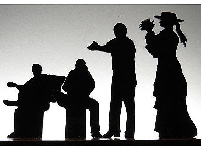 Picture of Flamenco II Glasscape Lighting Sculpture