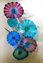 Blown Glass Wall Sculpture - Carolina Tree