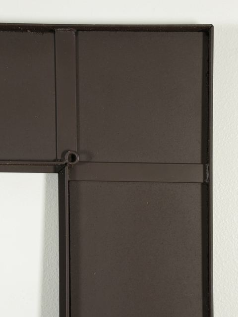 Picture of Mission Style Copper and Iron Trim Mirror