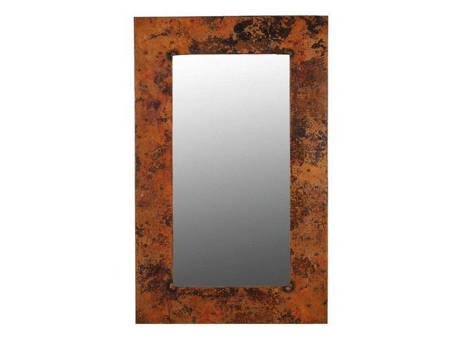 """Picture of Tall Copper Mirror 48"""""""