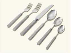 Picture of Gabriella 6-Piece Pewter Place Setting