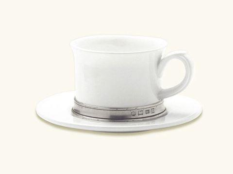 Convivo Cappuccino/Tea Cup with Saucer