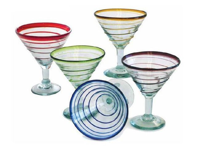 Picture of Spiral Classic Cocktail or Margarita Glass