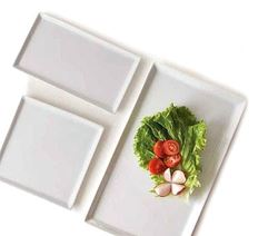 Organic Dinnerware Serving Rectangles and Squares
