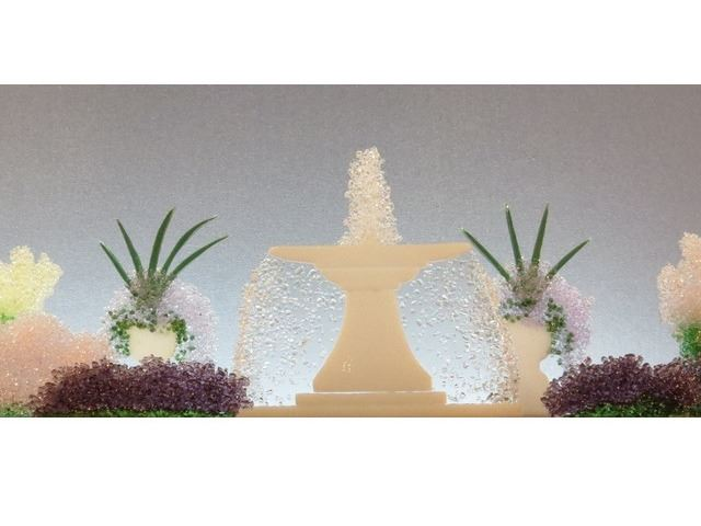 Picture of Classical Hush Glasscape Lighting Sculpture