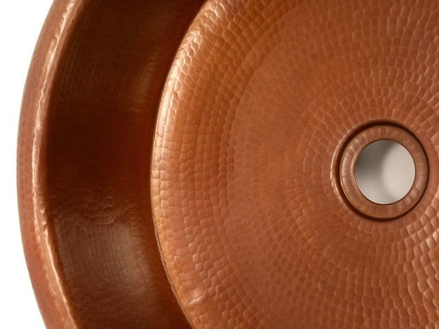 "Picture of 15"" Copper Vessel Sink w/Skirt by SoLuna"