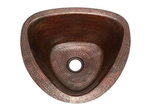 """15"""" Triangular Copper Bar Sink by SoLuna"""