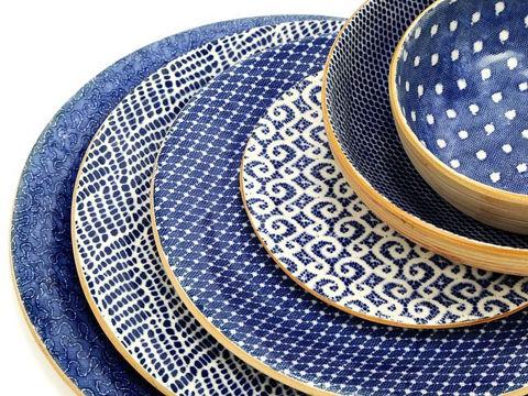 Terrafirma Ceramics | Seaside Cobalt | 6-pc