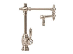 "Waterstone Towson Kitchen Faucet with Single Handle - 12"" Articulated Spout"